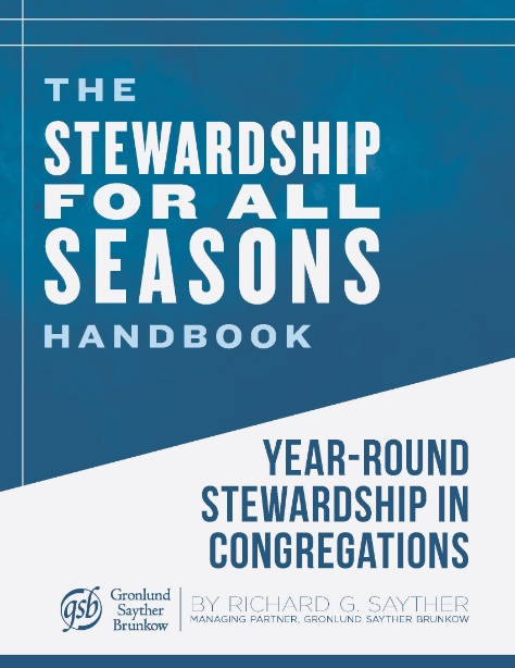 stewardship for all seasons book