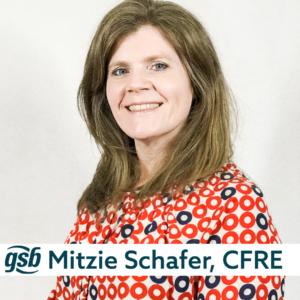 Mitzie Schafer speaker card